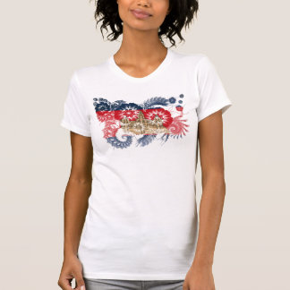 T-shirt Drapeau du Cambodge