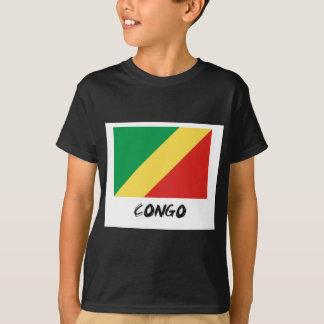 T-shirt Drapeau du Congo