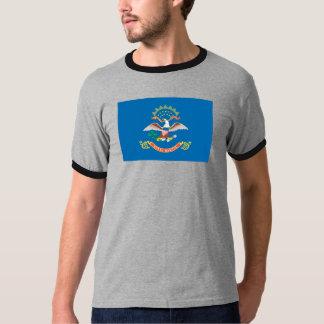 T-shirt Drapeau du DAKOTA DU NORD -