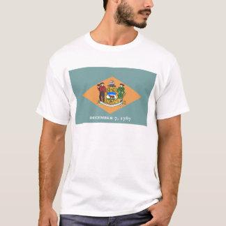 T-shirt Drapeau du Delaware