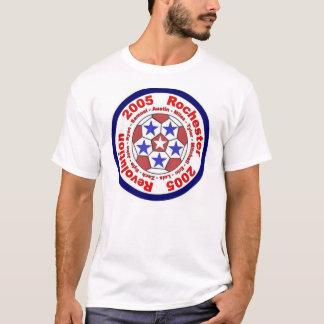 T-shirt Drapeau du football de révolution de Rochester