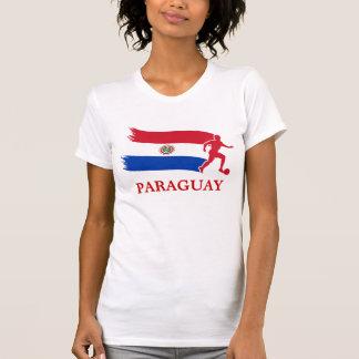T-shirt Drapeau du football du Paraguay