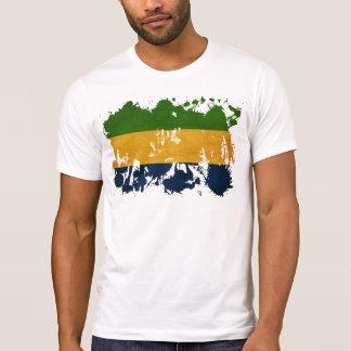 T-shirt Drapeau du Gabon