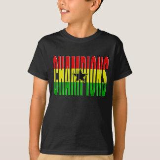 T-shirt Drapeau du Ghana Afrique 2010 chemises de