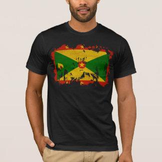T-shirt Drapeau du Grenada