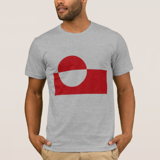T-shirt Drapeau du Groenland