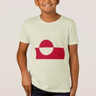 T-Shirt Drapeau du Groenland, Groenland