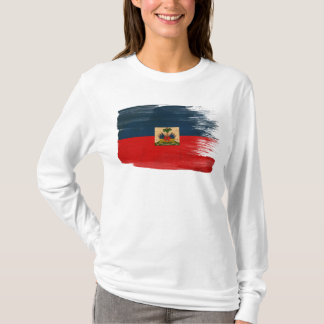 T-shirt Drapeau du Haïti