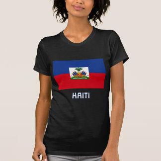 T-shirt Drapeau du Haïti avec le nom