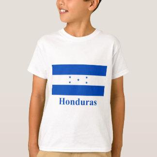 T-shirt Drapeau du Honduras avec le nom