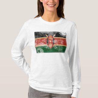 T-shirt Drapeau du Kenya