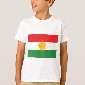 T-shirt Drapeau du Kurdistan (le Kurdistan ou l'Alaya