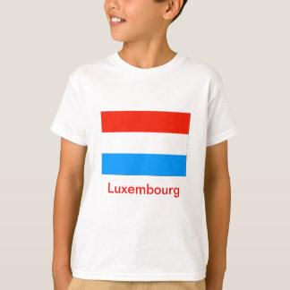 T-shirt Drapeau du Luxembourg