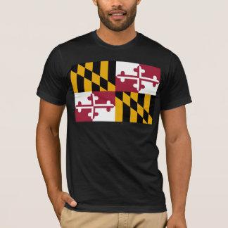 T-shirt Drapeau du Maryland