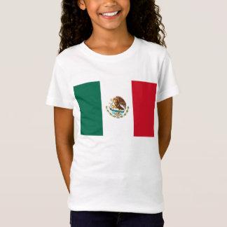 T-Shirt Drapeau du monde du Mexique
