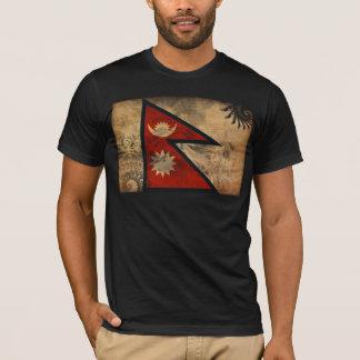 T-shirt Drapeau du Népal