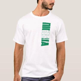 T-shirt Drapeau du Nigéria