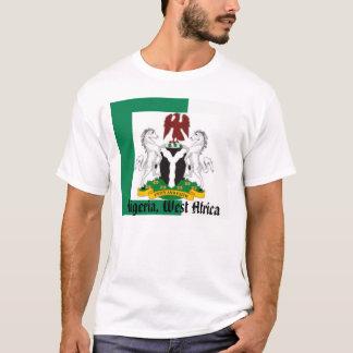 T-shirt Drapeau du Nigéria, Nigeriaarms21, Nigéria,
