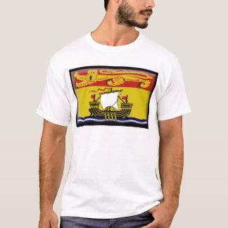 T-shirt Drapeau du Nouveau Brunswick (Canada)