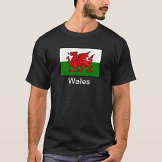 T-shirt Drapeau du Pays de Galles