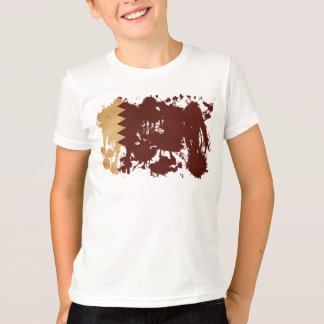 T-shirt Drapeau du Qatar
