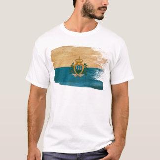 T-shirt Drapeau du Saint-Marin