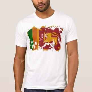 T-shirt Drapeau du Sri Lanka