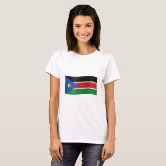 T-shirt Drapeau du sud du Soudan