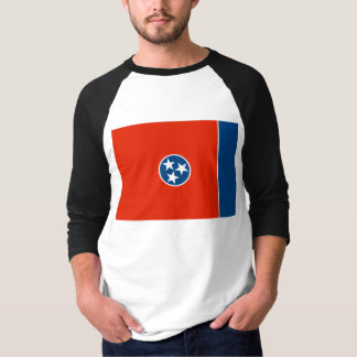 T-shirt Drapeau du Tennessee