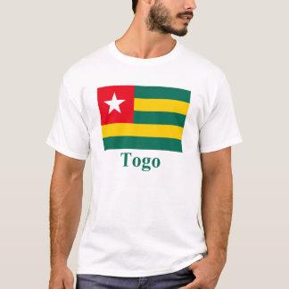 T-shirt Drapeau du Togo avec le nom