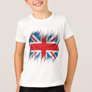 T-shirt Drapeau d'Union Jack de défibreurs