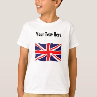 T-shirt Drapeau d'Union Jack - personnalisable avec votre