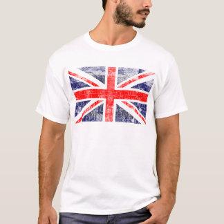 T-shirt Drapeau Englaterra grunge