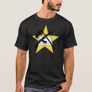 T-shirt Drapeau Ensignia de la Mozambique