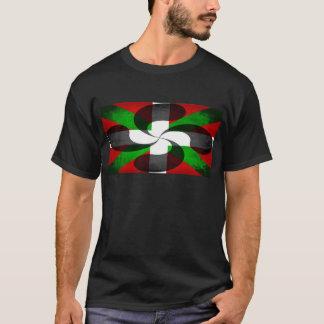 T-shirt Drapeau et croix Basques