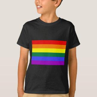 T-shirt Drapeau gai