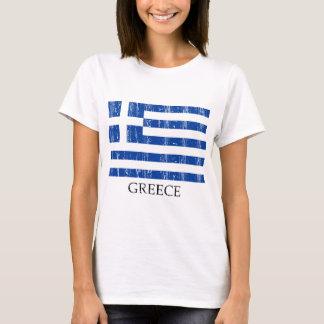 T-shirt Drapeau grec vintage