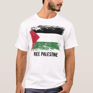 T-shirt Drapeau grunge de la Palestine