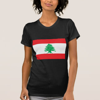 T-shirt Drapeau libanais - drapeau de علملبنان du Liban