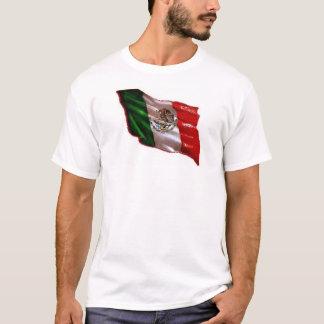 T-shirt drapeau mexicain