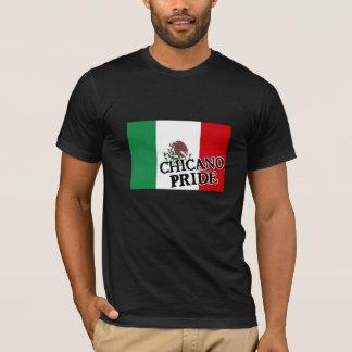 T-shirt Drapeau mexicain de fierté chicano