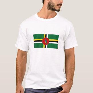 T-shirt Drapeau national de la Dominique