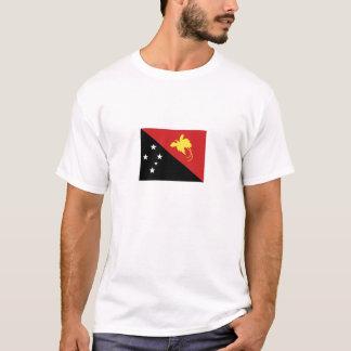 T-shirt Drapeau national de la Papouasie-Nouvelle-Guinée