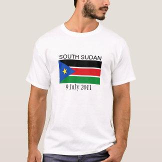 T-shirt Drapeau national du sud du Soudan