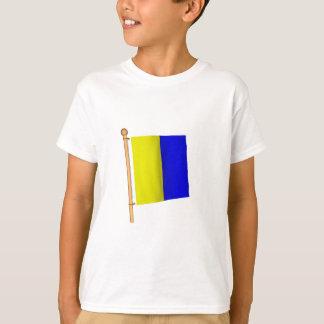 T-shirt Drapeau nautique 'K