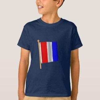 T-shirt Drapeau nautique 'T