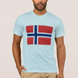 T-shirt Drapeau norvégien