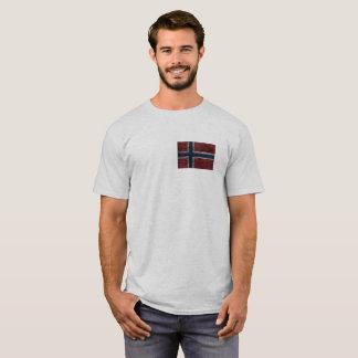 T-shirt Drapeau - Norway