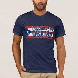 T-shirt Drapeau NOTA: d'OBAMA d'escroquerie de Podemos