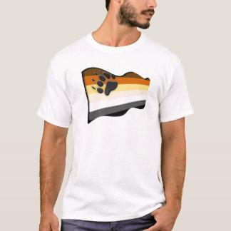 T-shirt Drapeau onduleux de l'ours 3D